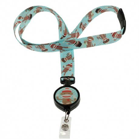 Lanyard 2en1 - Monsieur Monkey