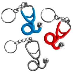 Metal key ring Fonendoscopio