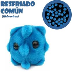 GiantMicrobes (peluche) - Rhinovirus (resfriado)