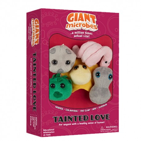 Caja mini-giantmicrobes Tainted Love (Amor Tóxico)