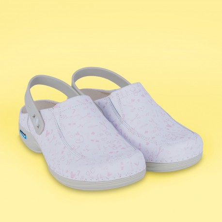 Leather Clog Washable Wash'Go - Sweet...