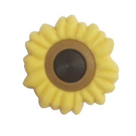 Button - Sunflower