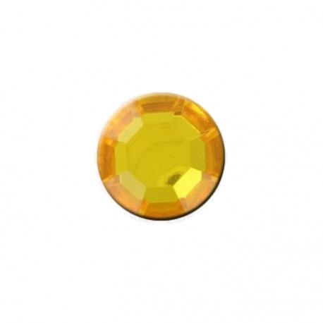 Button - Yellow Diamond