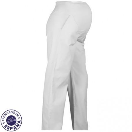 Pantalón uniforme Premamá - Blanco