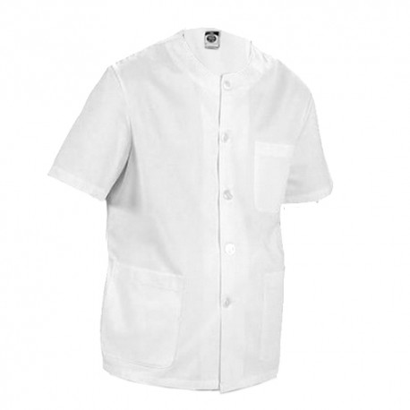 Round neck uniform top with bottons