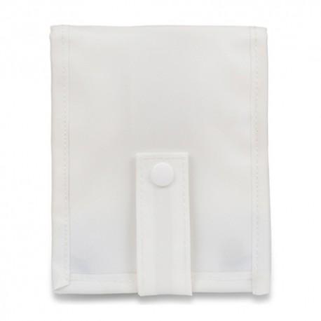 Organizador de bolsillo Keen's blanco...