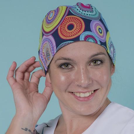 Long hair surgical cap - Psicodelia