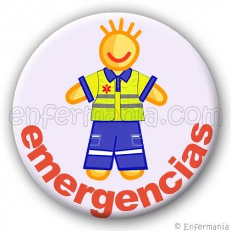 Placa d'emergència - chico