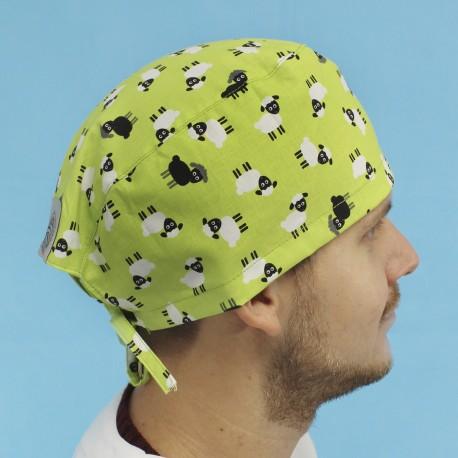 Short Hair Surgical Cap - Sheepy