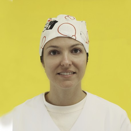 Short Hair Surgical Cap - Vital Signs