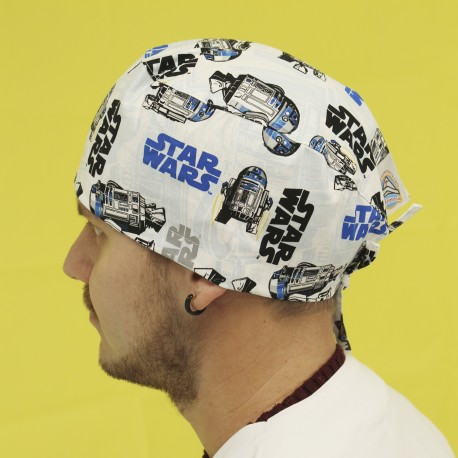 Short Hair Surgical Cap - Star Wars
