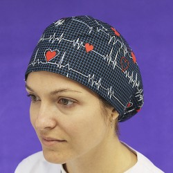 Long Hair Surgical Cap - Flutter