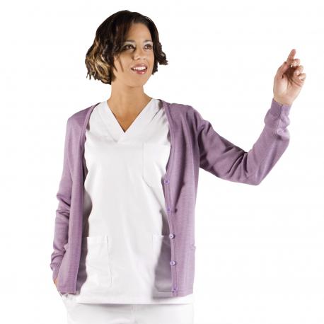 Nurse Cardigan - lilac