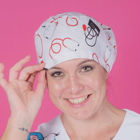 Long hair surgical cap - Vital Signs