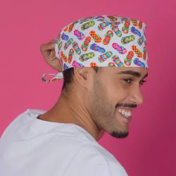 Short hair surgical cap -...