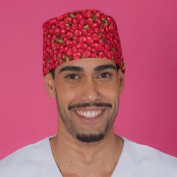 Gorro casquete - Cherries