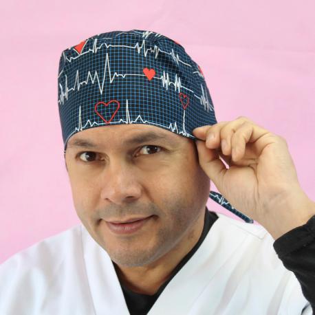 Short Hair Surgical Cap - Flutter