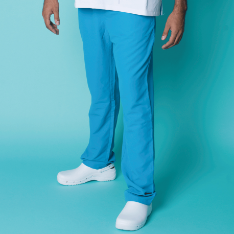 Microfiber Trousers - Turquoise