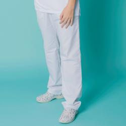 Pantalón microfibra - Blanco