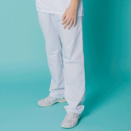 Microfiber Trousers - White