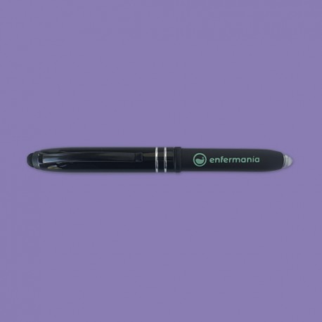 Bolígrafo multifunción 3-en-1 negro