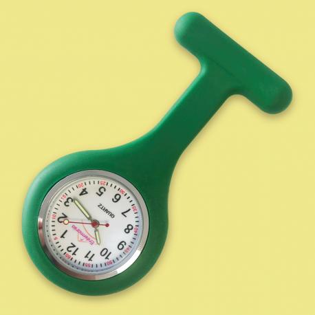 Reloj silicona Enfermania - Verde oscuro