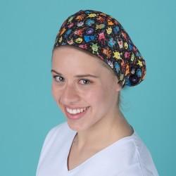 Long hair surgical cap -...