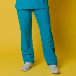 Pantalón microfibra - Turquesa