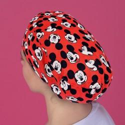 Gorro pelo largo - Mickey rojo