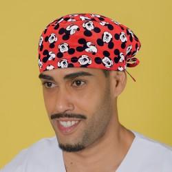 Gorro casquete - Mickey rojo