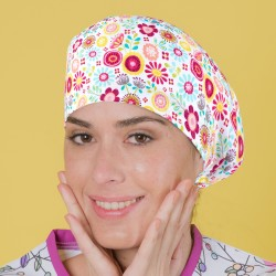 Long Hair Surgical Cap -...