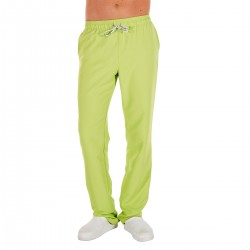 Microfiber Trousers - Lime