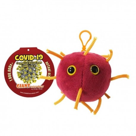 Keychain Giantmicrobe - COVID-19