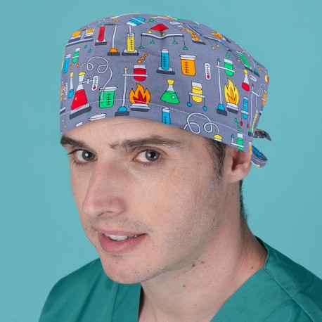 Short hair surgical  cap - Laboratory...