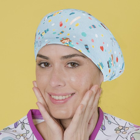 Long Hair Surgical Cap - nursing care...