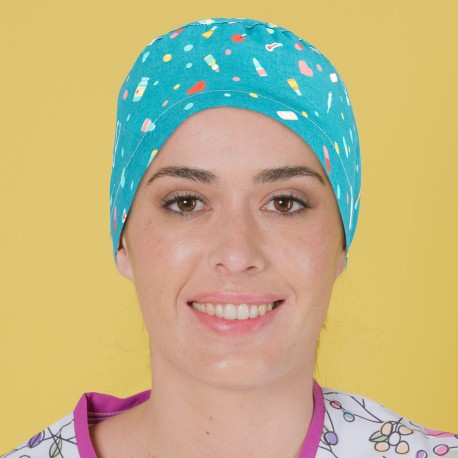 Long Hair Surgical Cap - Medical...