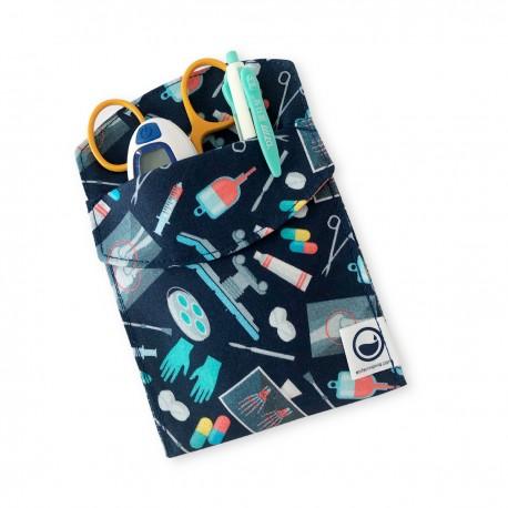Navy blue Medical Instruments Pocket...