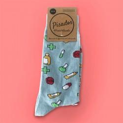 Stamped Socks - Pharma