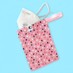 Pink Hearts Fabric Porta...