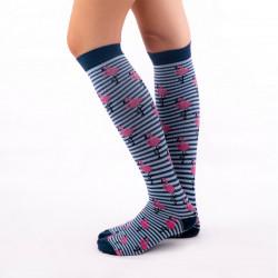 Compresive Printed Socks -...