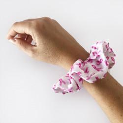 Breast Cancer Scrunchie