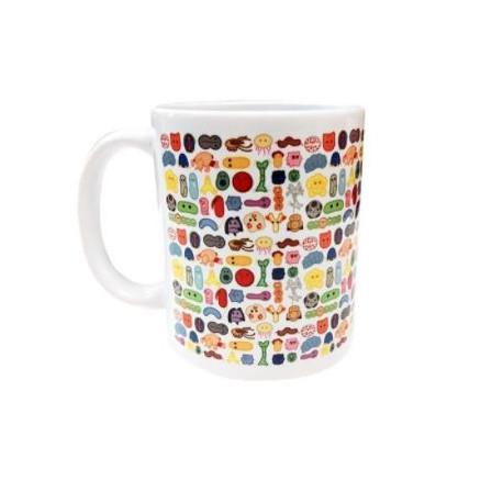 Ceramic mug Giantmicrobe