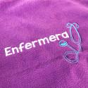 customized nursing fleece