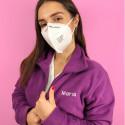 violet nursing fleece