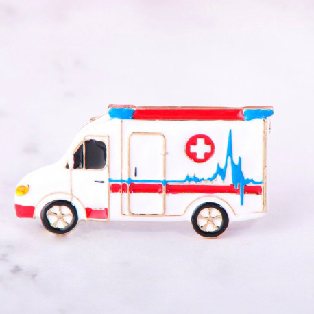 Broche Ambulancia