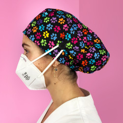 Long Hair Surgical Cap with...